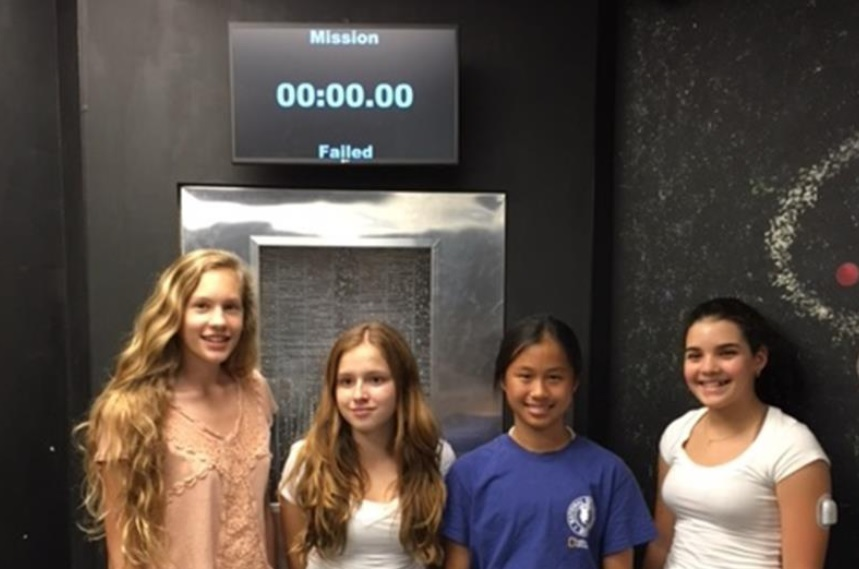 Brooke Turner, Morgan Russell, Sarah Laboda and Melanie Pena